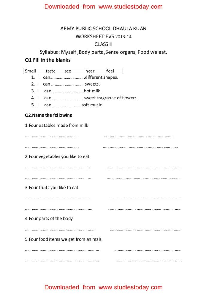 Multiplying Fractions Word Problems Worksheet Cbse Evs Practice Worksheets Myself Body Parts Army Public