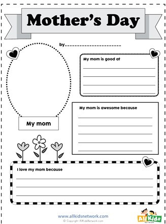 Number Of the Day Worksheet Mother S Day Worksheet