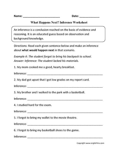 Observation and Inference Worksheet Suzanne111 Suzanne On Pinterest