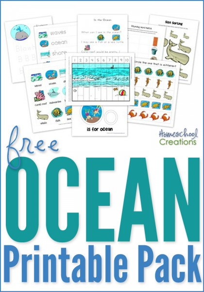 Ocean Worksheets for Preschool Ocean Preschool Pack Free Preschool Printables