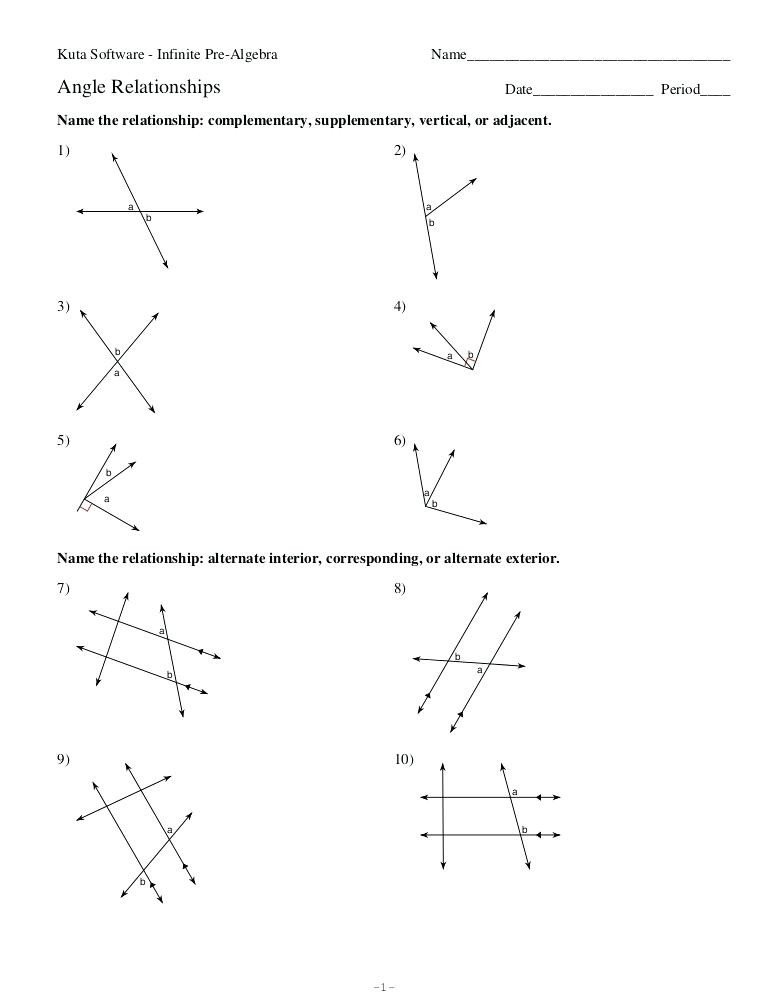 Pairs Of Angles Worksheet Answers Vertical and Adjacent Angles Worksheets – Keepyourheadup