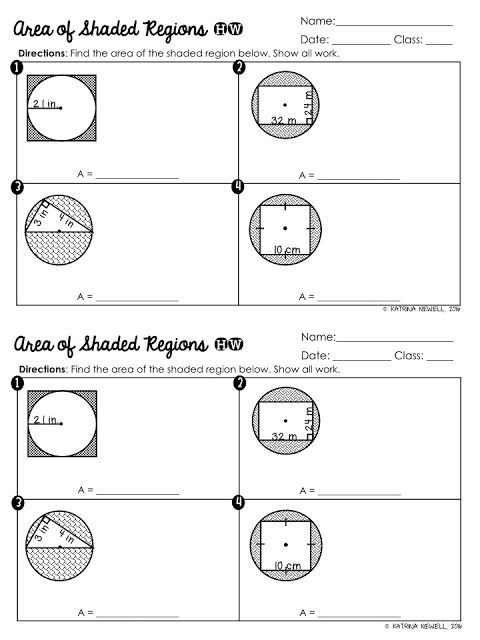 Parts Of A Circle Worksheet Circle Basics Unit Part 1