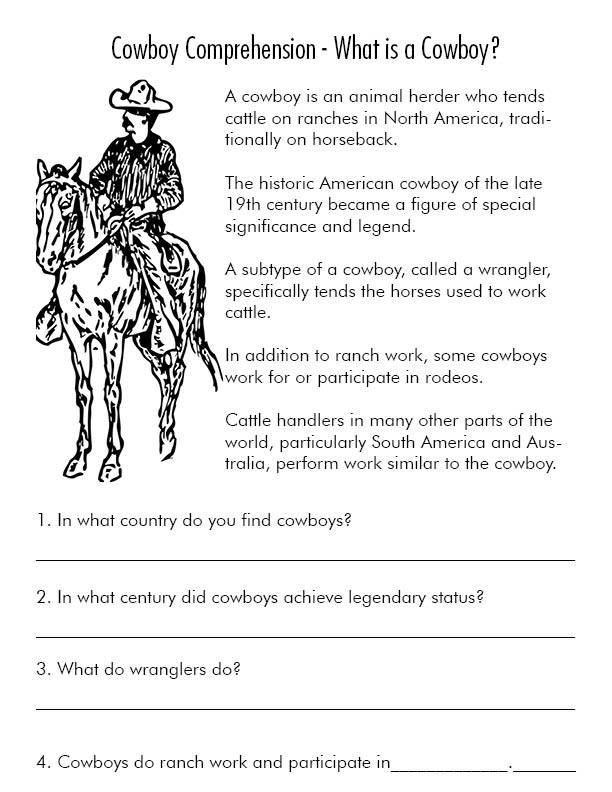 Parts Of the Horse Worksheet Reading Prehension Worksheets and Resources