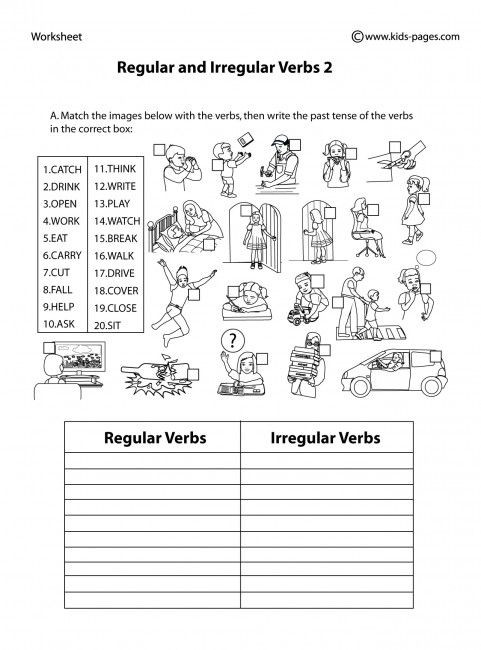 Permutations and Combinations Worksheet Answers Regular and Irregular Verbs 2 B&w