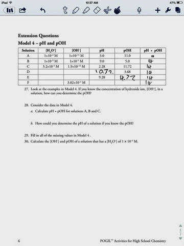 Ph and Poh Worksheet 30 Ph and Poh Worksheet Worksheet Project List