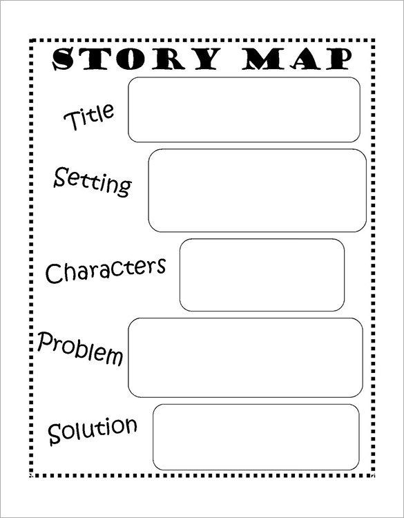 Plot Diagram Worksheet Pdf 8 Story Map Templates Doc Pdf