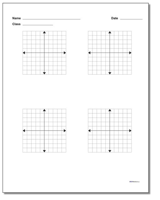 Plotting Points Worksheet Pdf 84 Blank Coordinate Plane Pdfs [updated ]