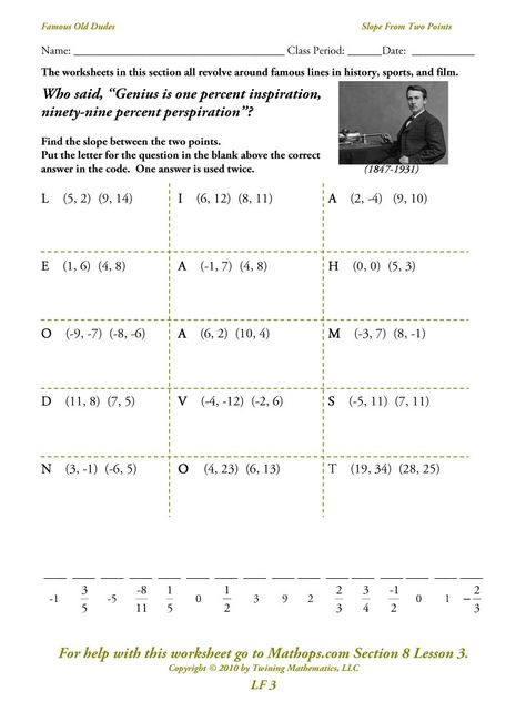 Point Slope form Worksheet Point Slope form Equation Parallel the Reason why Everyone