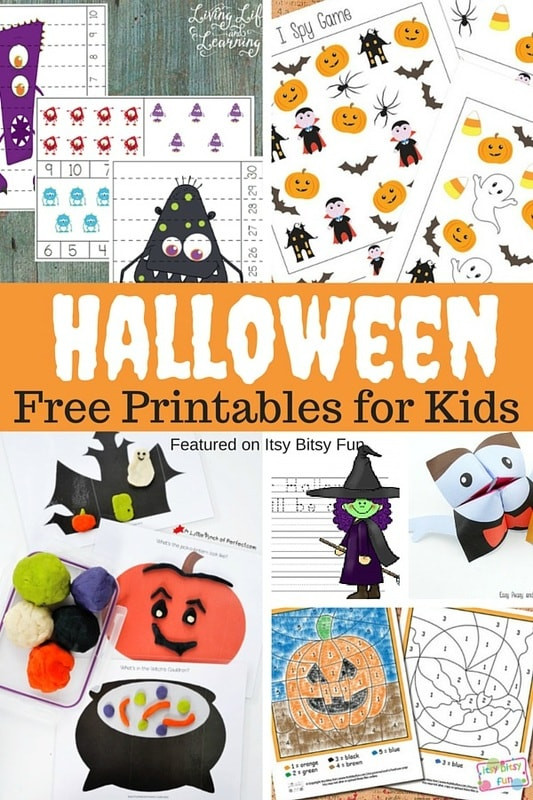 Preschool Halloween Worksheets Free Free Printable Halloween Worksheets and More Itsy Bitsy Fun