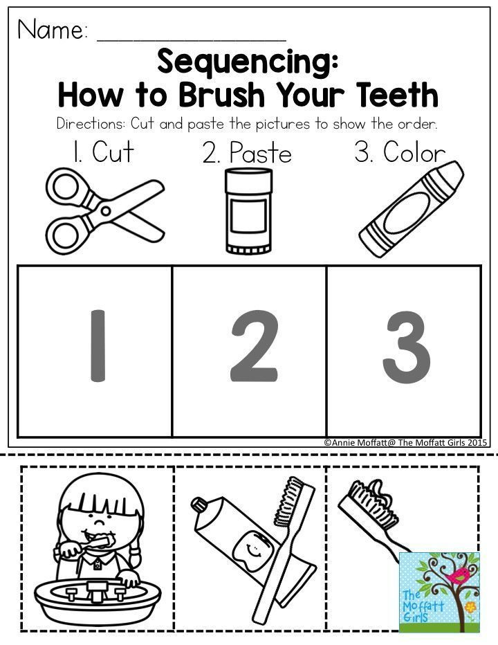 Preschool Sequencing Worksheets January Learning Resources with No Prep with Images