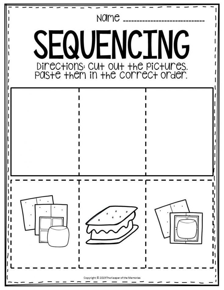 Preschool Sequencing Worksheets Pin On Preschool Circle Time