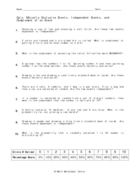 Probability Of Compound events Worksheet 28 [ Probability and Pound events Worksheet ]