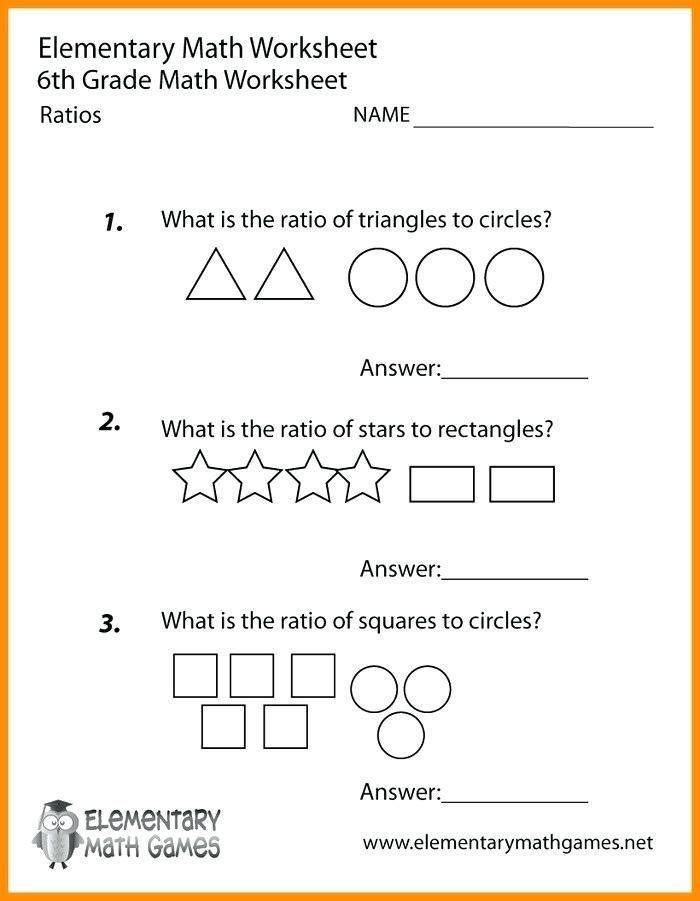 Proportions Worksheet 6th Grade 27 Ratio and Proportion Worksheets with Answers Math