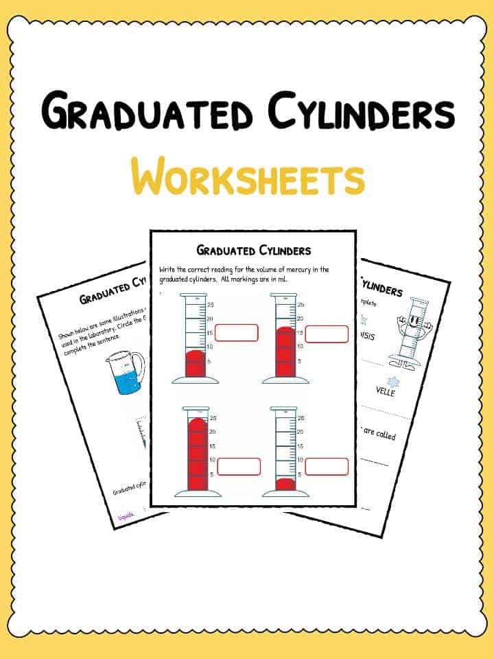 Reading Graduated Cylinders Worksheet Graduated Cylinders Worksheet
