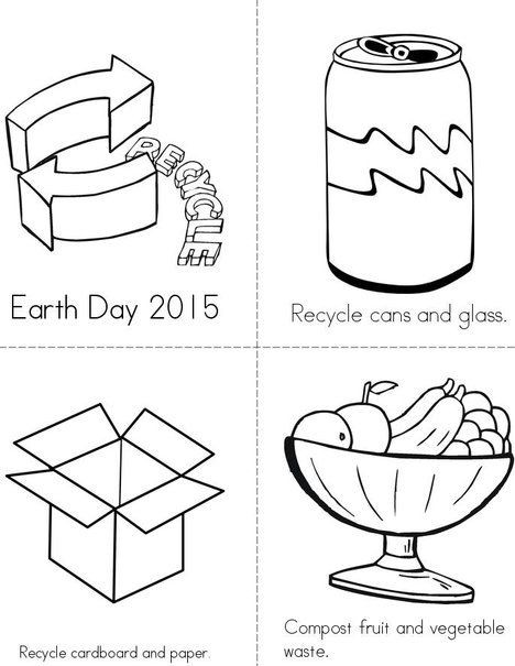Recycling Worksheets for Middle School Recycle and Post Book From Twistynoodle