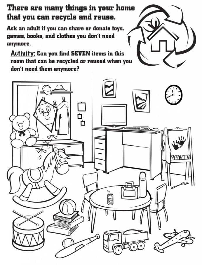 Recycling Worksheets for Preschoolers Recycling Worksheet Year Printable Worksheets and Activities