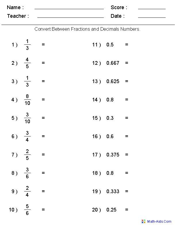 Repeating Decimal to Fraction Worksheet Converting Fractions Into Decimals Khan Academy لم يسبق له