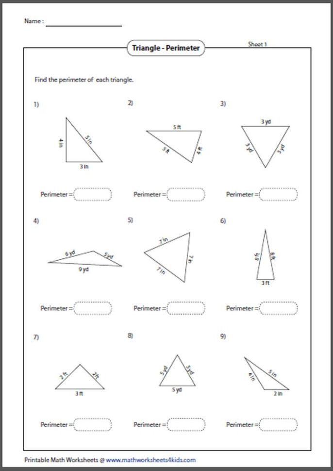 Right Triangle Word Problems Worksheet 26 area and Perimeter Word Problems Worksheets for Grade 5