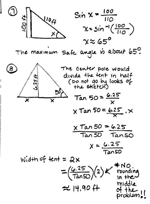 Right Triangle Word Problems Worksheet Right Triangle Trigonometry Word Problems Worksheet with