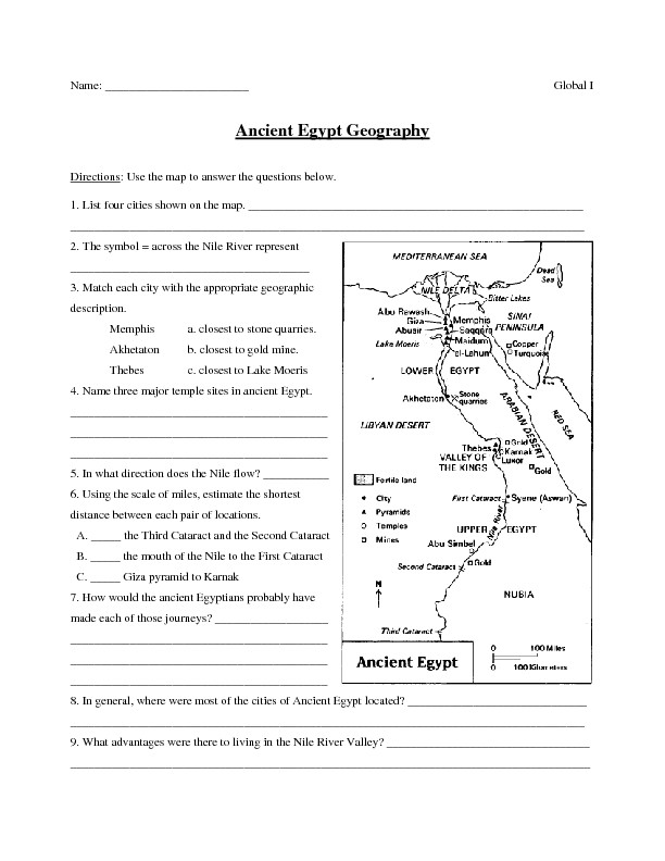 River Valley Civilizations Worksheet Ancient Egypt Lessons Tes Teach