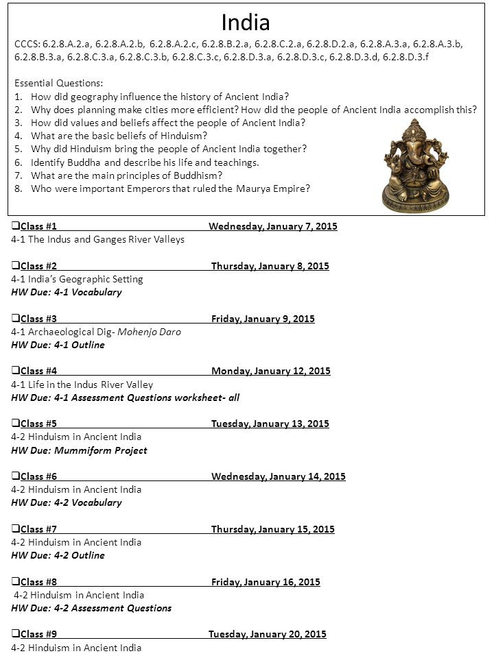 River Valley Civilizations Worksheet Class 1wednesday January 7 the Indus and Ganges River