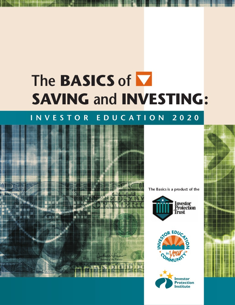 Saving and Investing Worksheet Basics Of Saving and Investing