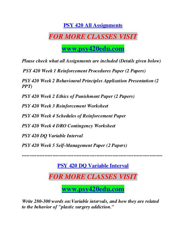 Schedules Of Reinforcement Worksheet Psy 420 Edu Career Path Begins Psy420edu Psy 420 Edu