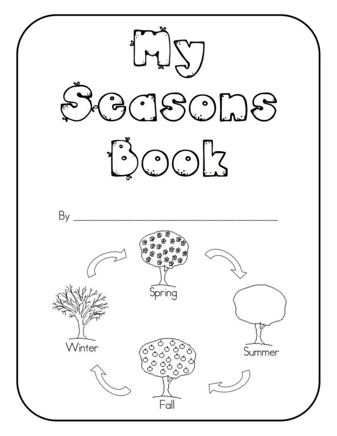 Seasons Worksheets for Preschoolers Seasons Kindergarten Books Lines Worksheets for Math is Fun