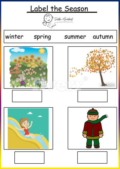 Seasons Worksheets for Preschoolers Weather and Season Worksheet Doc
