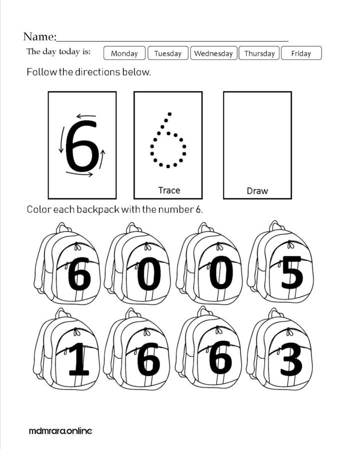 Sequencing Worksheets for Middle School Recognizing Number Worksheet Printable Worksheets and
