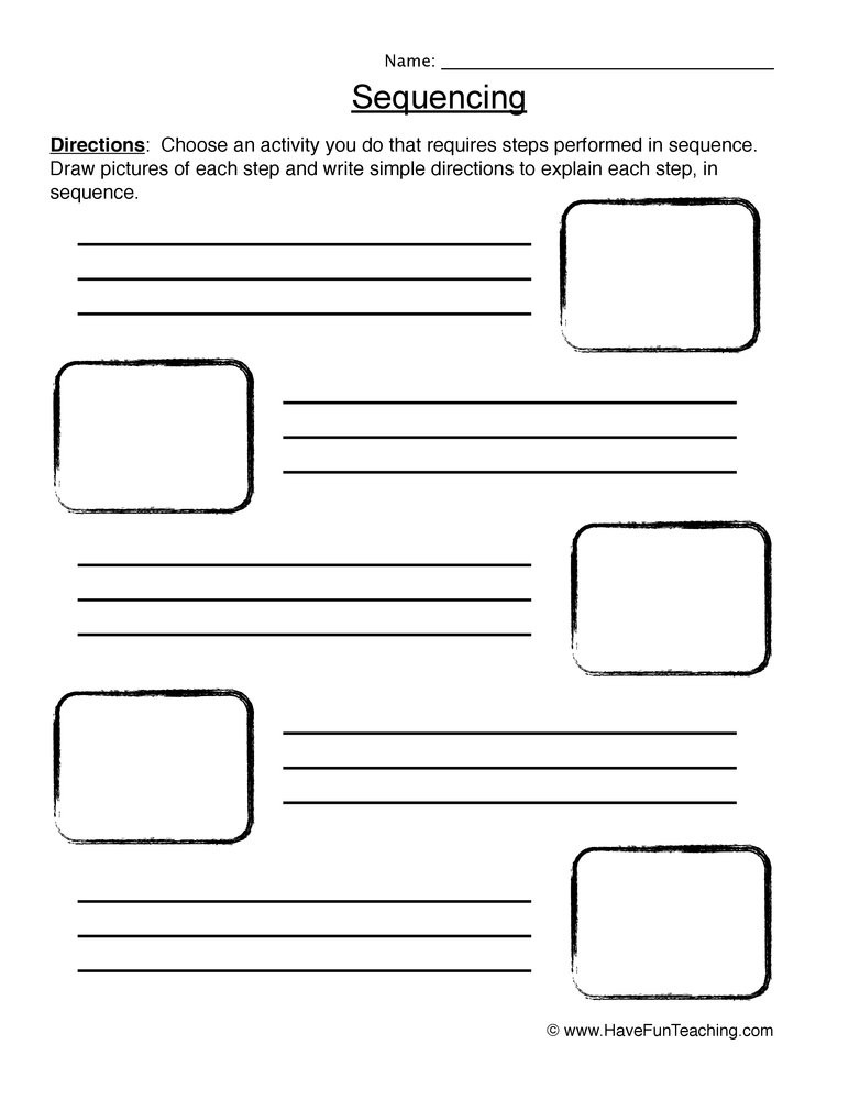 Sequencing Worksheets for Middle School Time Worksheet New 857 Time Sequencing Worksheet