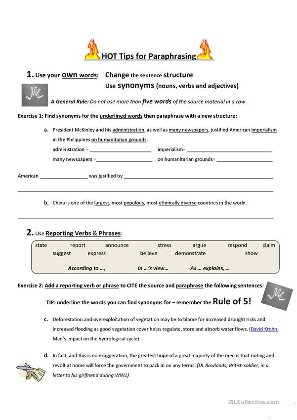 Sequencing Worksheets Middle School 20 Paraphrasing Worksheets Middle School