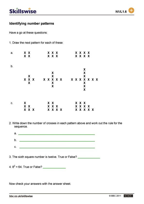 Sequencing Worksheets Middle School Image Result for Sequence Patterns Worksheet