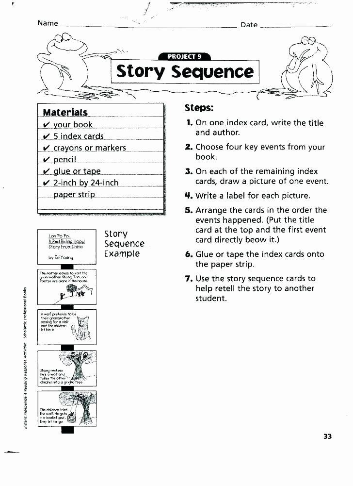 Sequencing Worksheets Middle School Pin On Examples Printable Preschool Worksheets