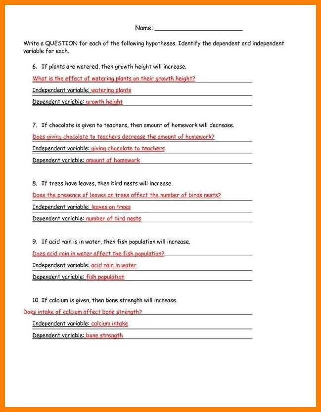 Simpsons Variables Worksheet Answers Identifying Variables Worksheet Answers Worksheet List