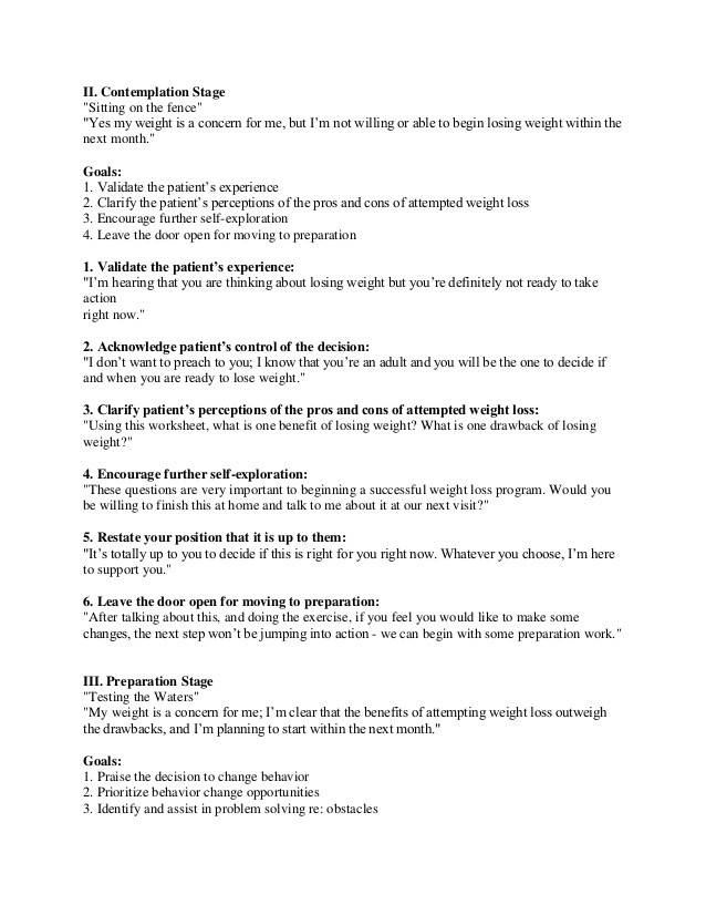 Stages Of Change Worksheet Stages Of Change