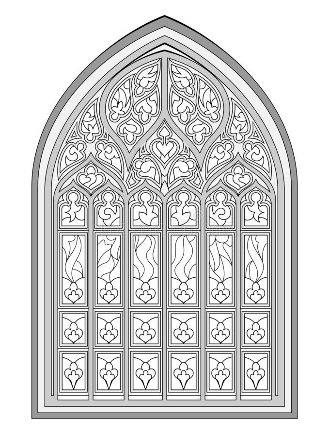 Stained Glass Windows Worksheet Black and White Drawing for Coloring Book Beautiful