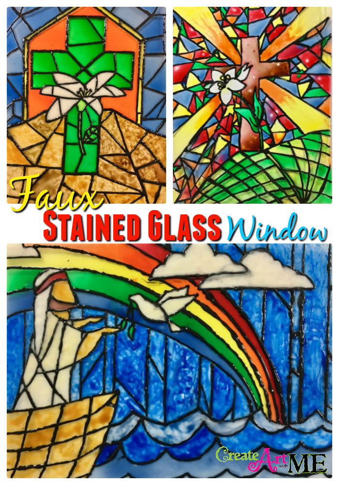 Stained Glass Windows Worksheet Faux Stained Glass Pinterest Create Art with Me