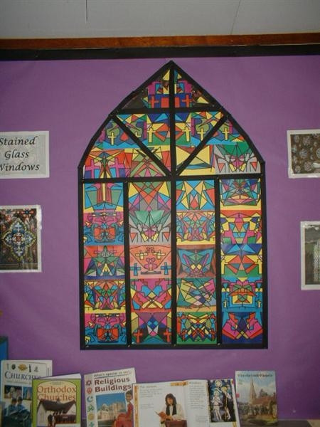 Stained Glass Windows Worksheet Stained Glass Windows Display