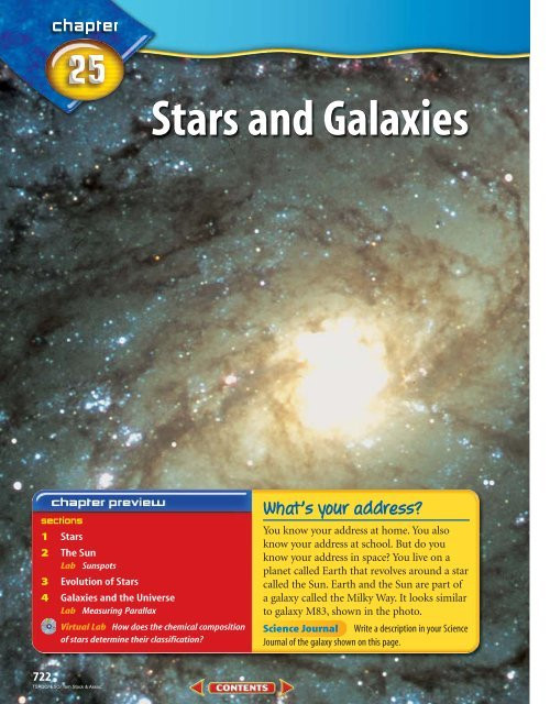 Stars and Galaxies Worksheet Answers Chapter 25 Stars and Galaxies Mcgraw Hill Higher Education