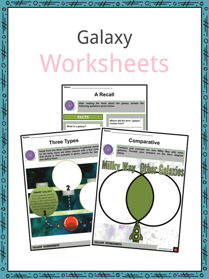 Stars and Galaxies Worksheet Answers Galaxy Facts Worksheets Description origin