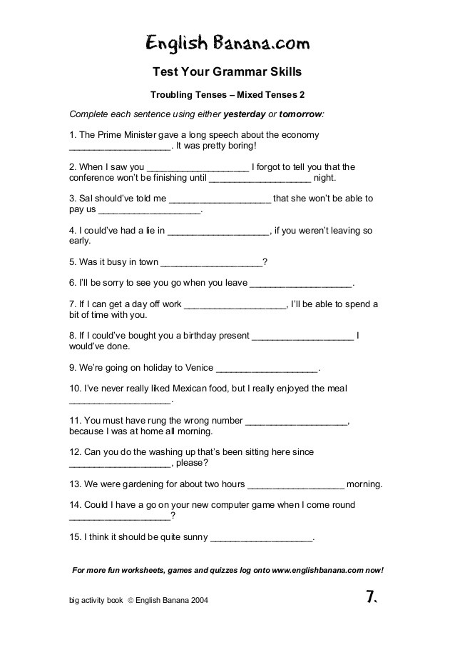 Summary Worksheets Middle School 95 Worksheets for English Lessons