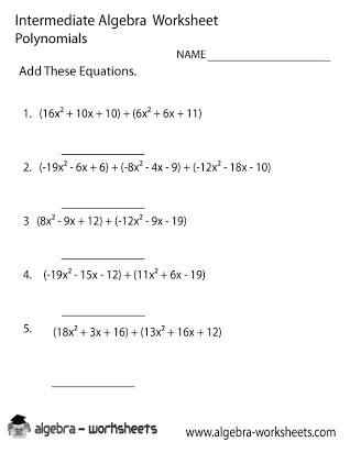 Synthetic Division Worksheet with Answers Free Math Polynomial Worksheets