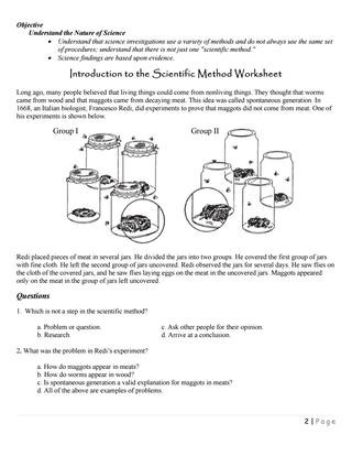 The Nature Of Science Worksheet Scimethwkshts by Ibarbozar issuu