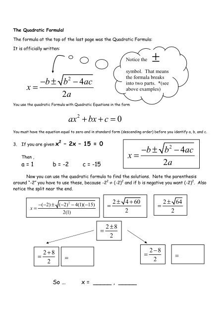 The Quadratic formula Worksheet 13 4 Hw Quadratic formula Worksheet Intro Pdf