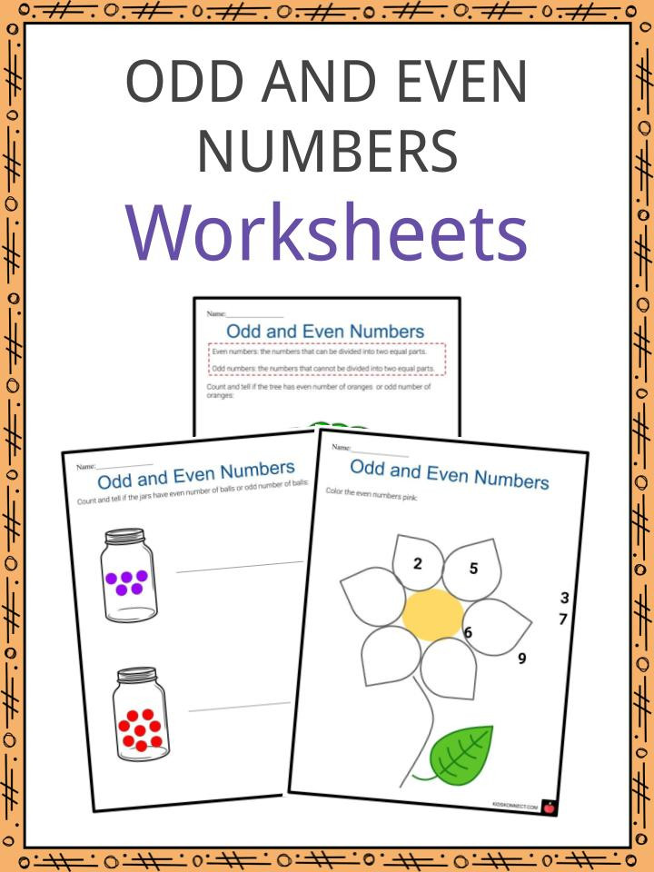 The Real Number System Worksheet Odd and even Numbers Worksheets
