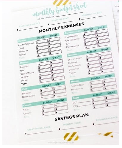 The Student Budget Worksheet Answers 25 Free Line tools to Manage Your School Finances
