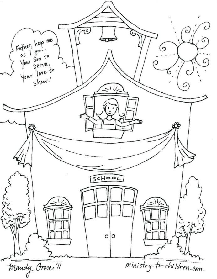 Theme Worksheets for Middle School top Coloring Back to School Free for My theme Preschool