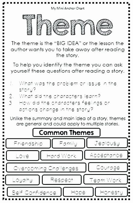 Theme Worksheets Middle School Pdf Pin On Examples Printable Preschool Worksheets