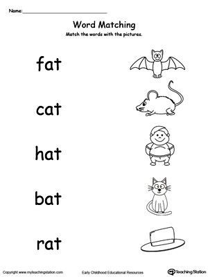 Three Letter Word Worksheets 3 Letter Word